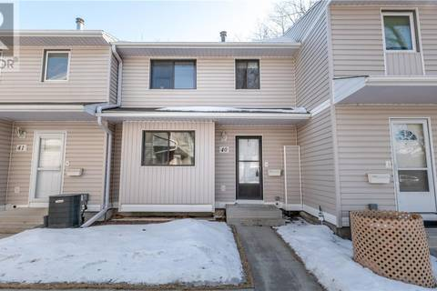 Townhouse for sale at 330 Haight Cres Unit 40 Saskatoon Saskatchewan - MLS: SK803635