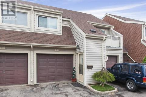 Townhouse for sale at 337 Kingswood Dr Unit 40 Kitchener Ontario - MLS: 30747493