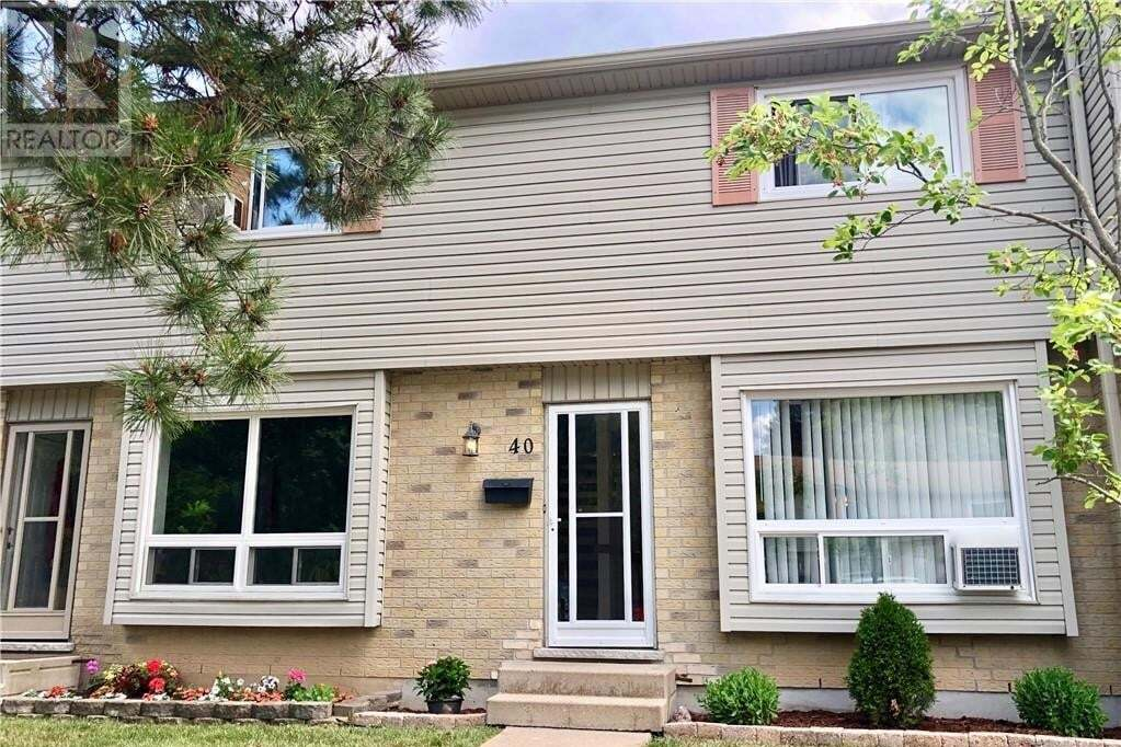 Townhouse for sale at 475 Sandringham Cres Unit 40 London Ontario - MLS: 268996