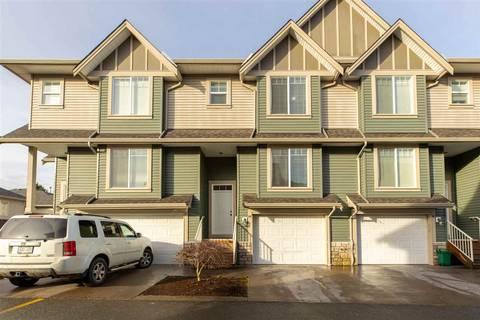 Townhouse for sale at 6498 Southdowne Pl Unit 40 Sardis British Columbia - MLS: R2434103