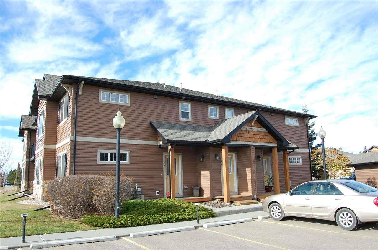 Townhouse for sale at 671 Silver_berry Rd Nw Unit 40 Edmonton Alberta - MLS: E4178826