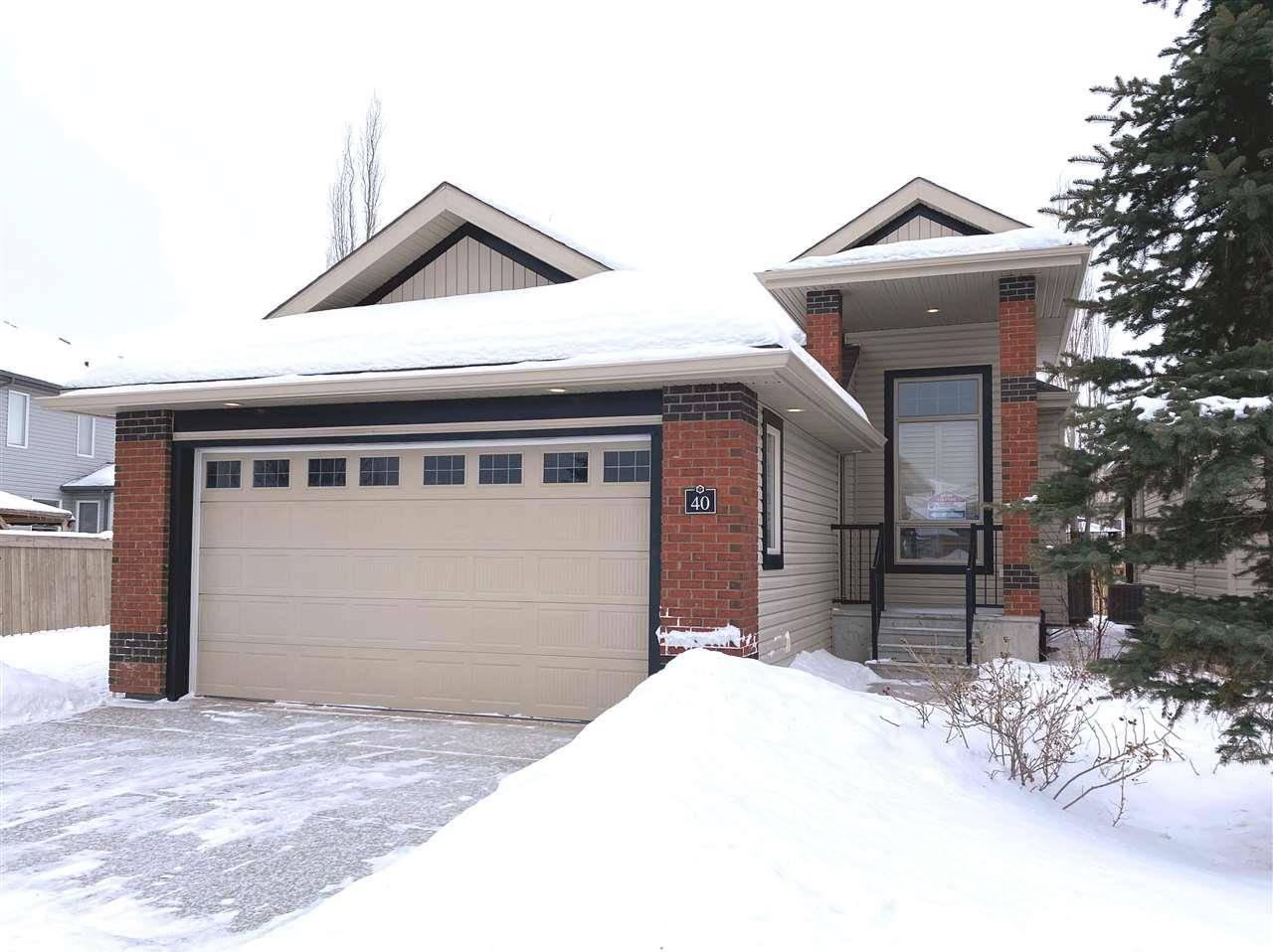 House for sale at 841 156 St Nw Unit 40 Edmonton Alberta - MLS: E4183499