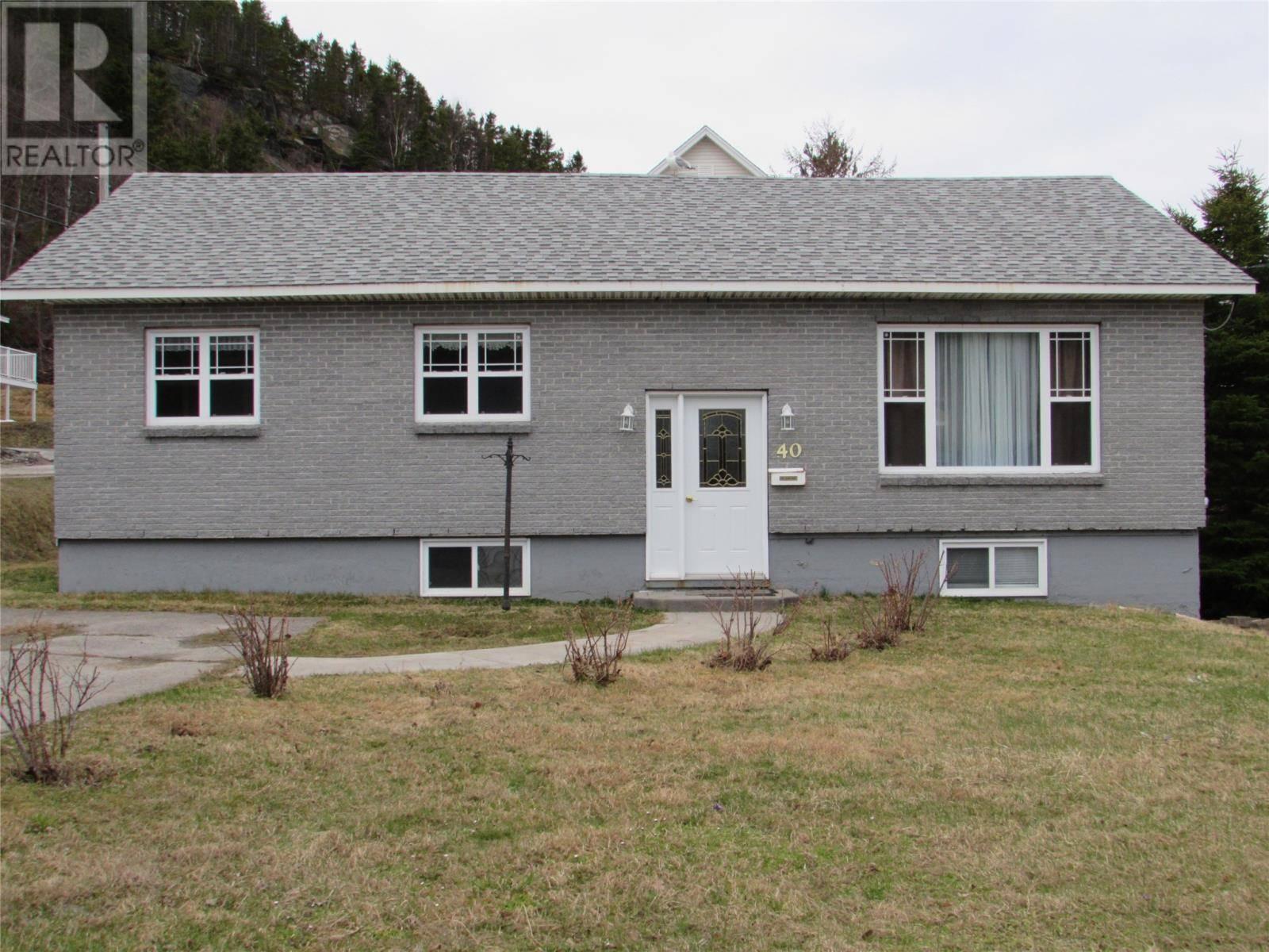 House for sale at 40 Allens Rd Corner Brook Newfoundland - MLS: 1195738