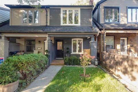 Townhouse for sale at 40 Alton Ave Toronto Ontario - MLS: E4623219