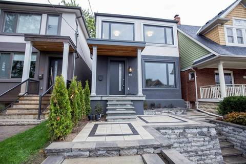 House for sale at 40 Beachdale Ave Toronto Ontario - MLS: E4582795