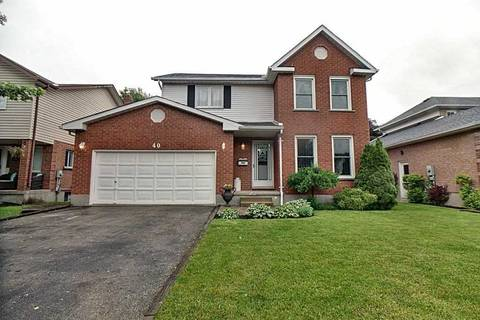House for sale at 40 Beechwood Rd Cambridge Ontario - MLS: X4484772