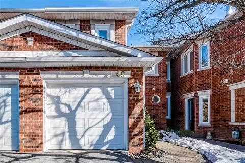 Townhouse for sale at 40 Brownstone Circ Vaughan Ontario - MLS: N4686563