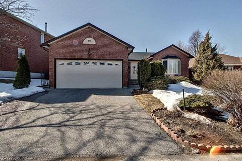 House for sale at 40 Canadian Oaks Dr Whitby Ontario - MLS: E4716659