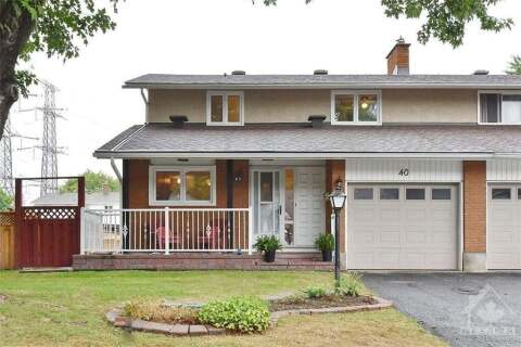 House for sale at 40 Downsview Cres Ottawa Ontario - MLS: 1199450