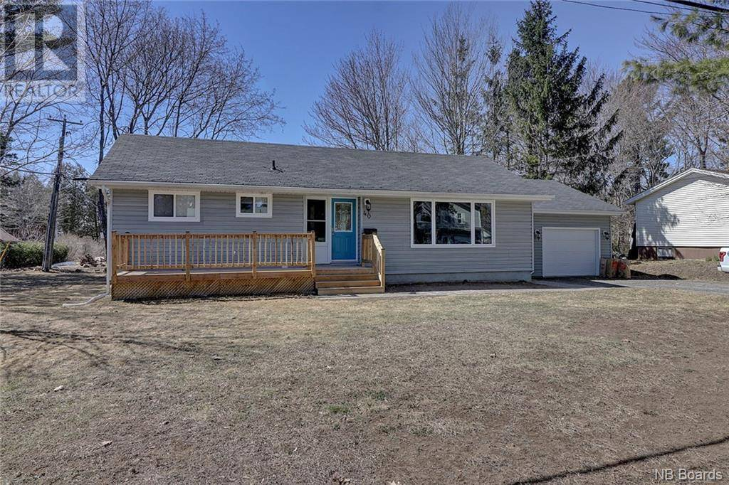 House for sale at 40 Floral Ave Fredericton New Brunswick - MLS: NB036932