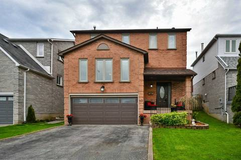 House for sale at 40 Gardiner Dr Ajax Ontario - MLS: E4493997