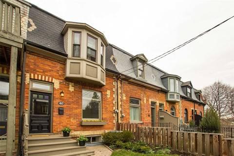 Townhouse for sale at 40 Geneva Ave Toronto Ontario - MLS: C4426763