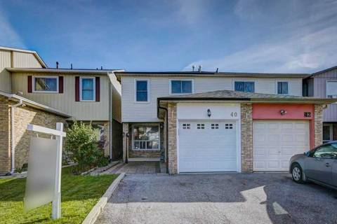 Townhouse for sale at 40 Granada Cres Toronto Ontario - MLS: E4635815