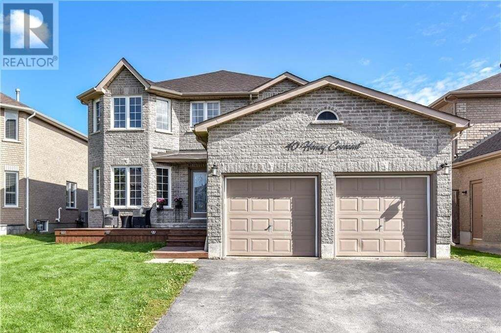 House for sale at 40 Honey Cres Barrie Ontario - MLS: 40023165