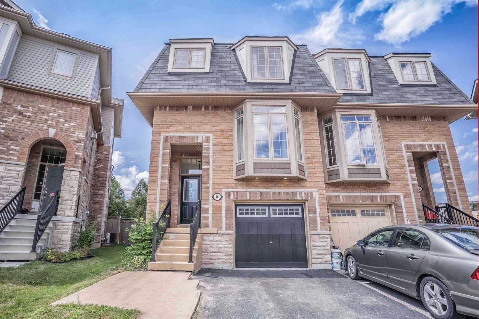 Townhouse for sale at 40 Horton St Ajax Ontario - MLS: E4866132