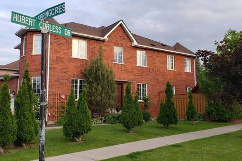 Townhouse for sale at 40 Hubert Corless Dr Caledon Ontario - MLS: W4494215