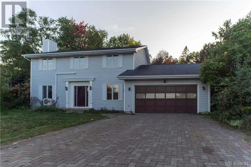 House for sale at 40 Jason Ct Fredericton New Brunswick - MLS: NB049190