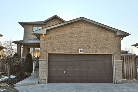 Townhouse for sale at 40 Lanza Ct Hamilton Ontario - MLS: X4392514