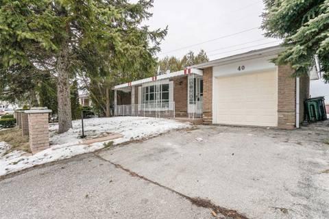 House for sale at 40 Lofthouse Sq Toronto Ontario - MLS: E4381570