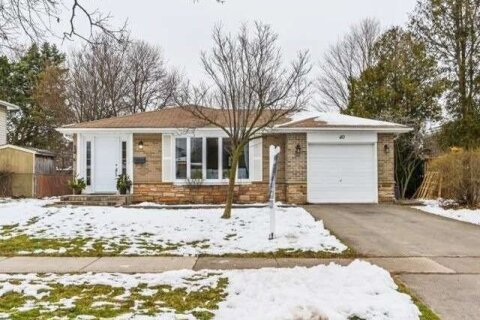 House for sale at 40 Moore Park Cres Halton Hills Ontario - MLS: W5083639