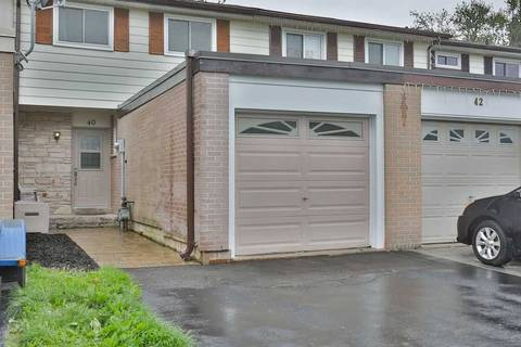 Townhouse for sale at 40 Onslow Ct Oakville Ontario - MLS: W4469434
