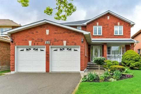 House for sale at 40 Ortona Dr Brampton Ontario - MLS: W4451796