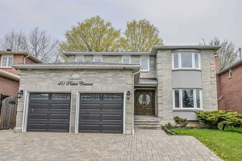 House for rent at 40 Pickett Cres Richmond Hill Ontario - MLS: N4450039