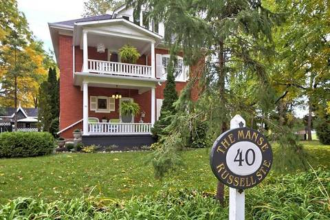 House for sale at 40 Russell St Blue Mountains Ontario - MLS: X4397601