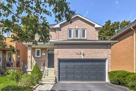 House for sale at 40 Salt Creek Ave Richmond Hill Ontario - MLS: N4580889