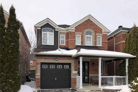 House for sale at 40 Trelawny Rd Markham Ontario - MLS: N4672403
