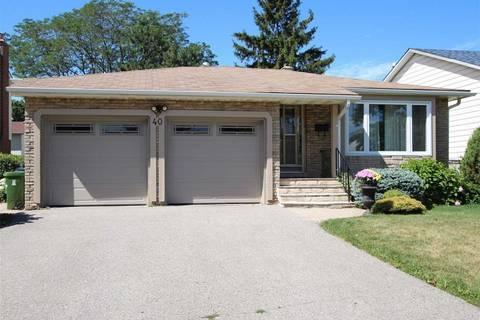 House for sale at 40 Wellpark Blvd Toronto Ontario - MLS: E4605045