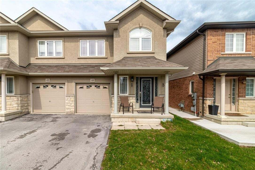 Townhouse for sale at 40 Whitworth Te Stoney Creek Ontario - MLS: H4077123