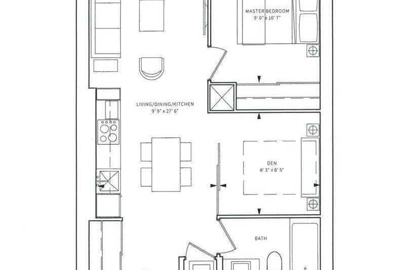 Apartment for rent at 85 Wood St Unit 4007 Toronto Ontario - MLS: C4814054