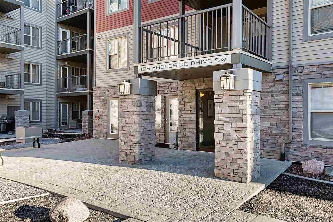 Condo for sale at 105 Ambleside Dr SW Unit 401 Edmonton Alberta - MLS: E4225647