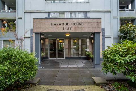 Condo for sale at 1436 Harwood St Unit 401 Vancouver British Columbia - MLS: R2424578