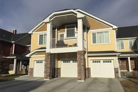 Townhouse for sale at 2400 Ravenswood Vw Southeast Unit 401 Airdrie Alberta - MLS: C4279470