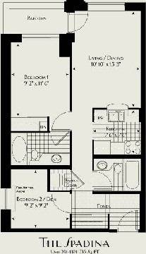 Apartment for rent at 438 Richmond St Unit 401 Toronto Ontario - MLS: C4494480
