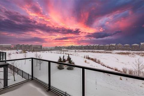 Townhouse for sale at 70 Saddlestone Dr Northeast Unit 401 Calgary Alberta - MLS: C4287380