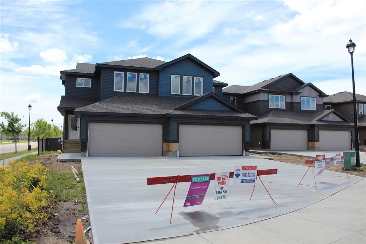 Townhouse for sale at 401 Genesis Ct Stony Plain Alberta - MLS: E4136769