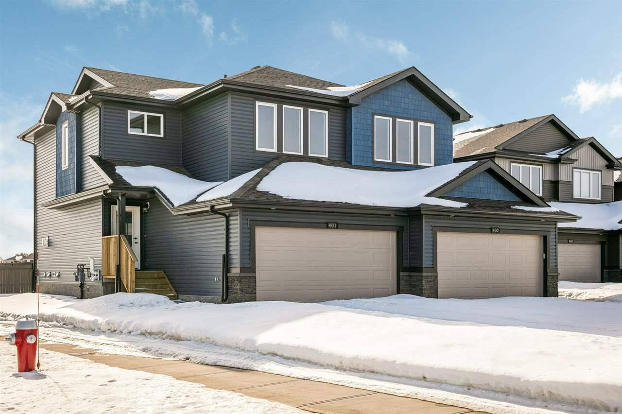 Townhouse for sale at 401 Genesis Ct Stony Plain Alberta - MLS: E4194409