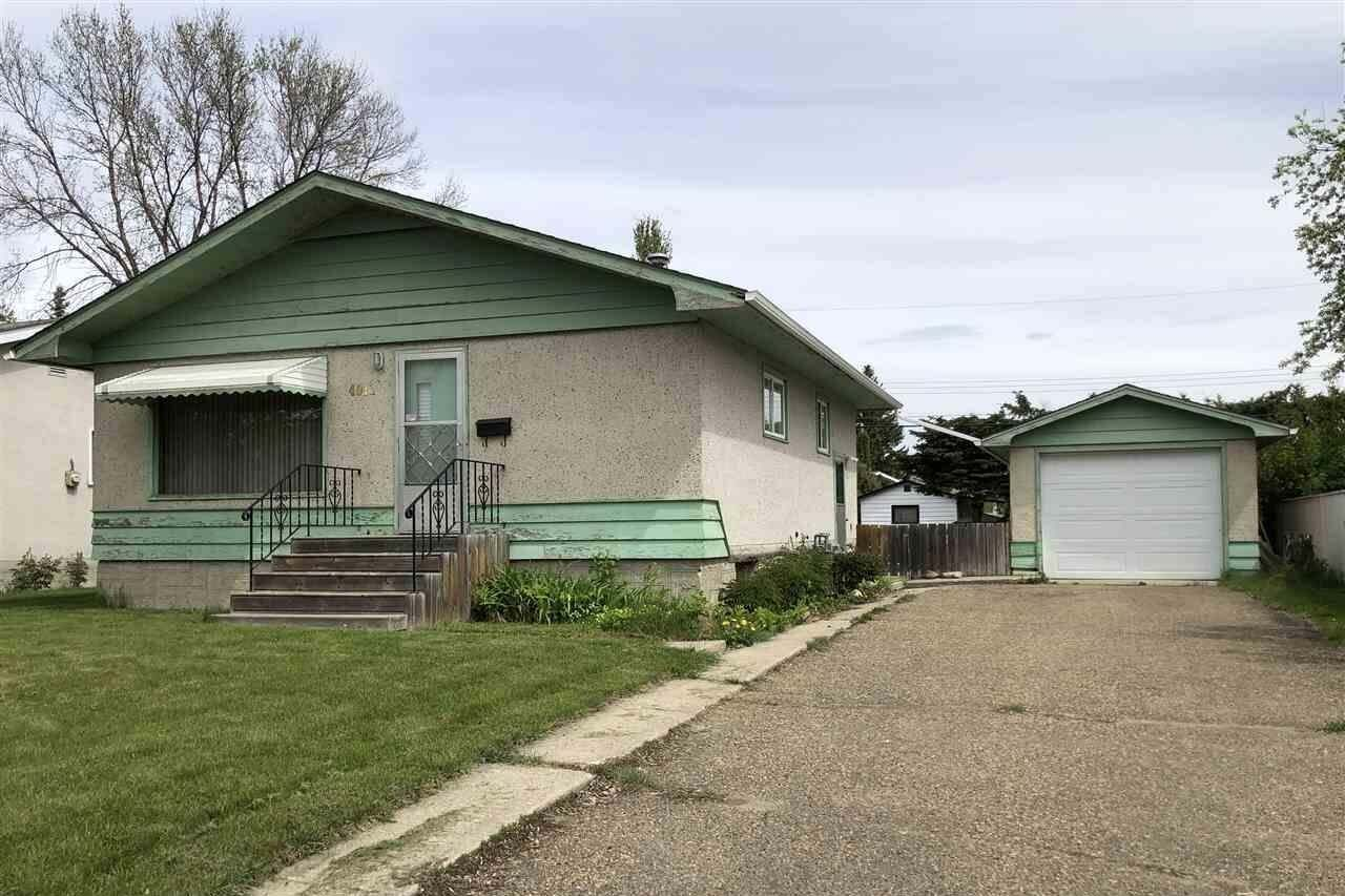 House for sale at 4011 55 St Wetaskiwin Alberta - MLS: E4198585