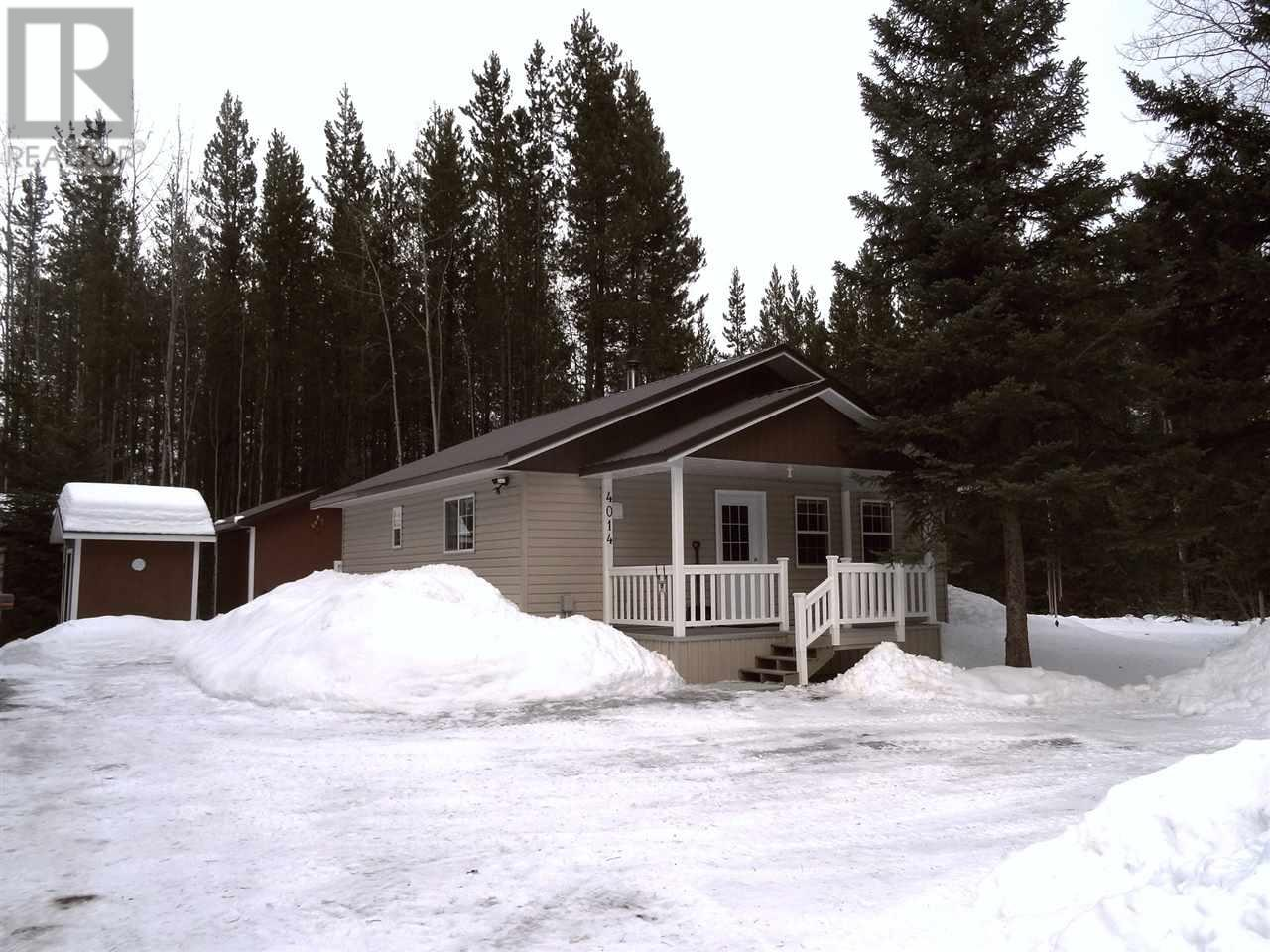 Removed: 4014 Bluestone Road, Quesnel, BC - Removed on 2020-03-05 04:48:06