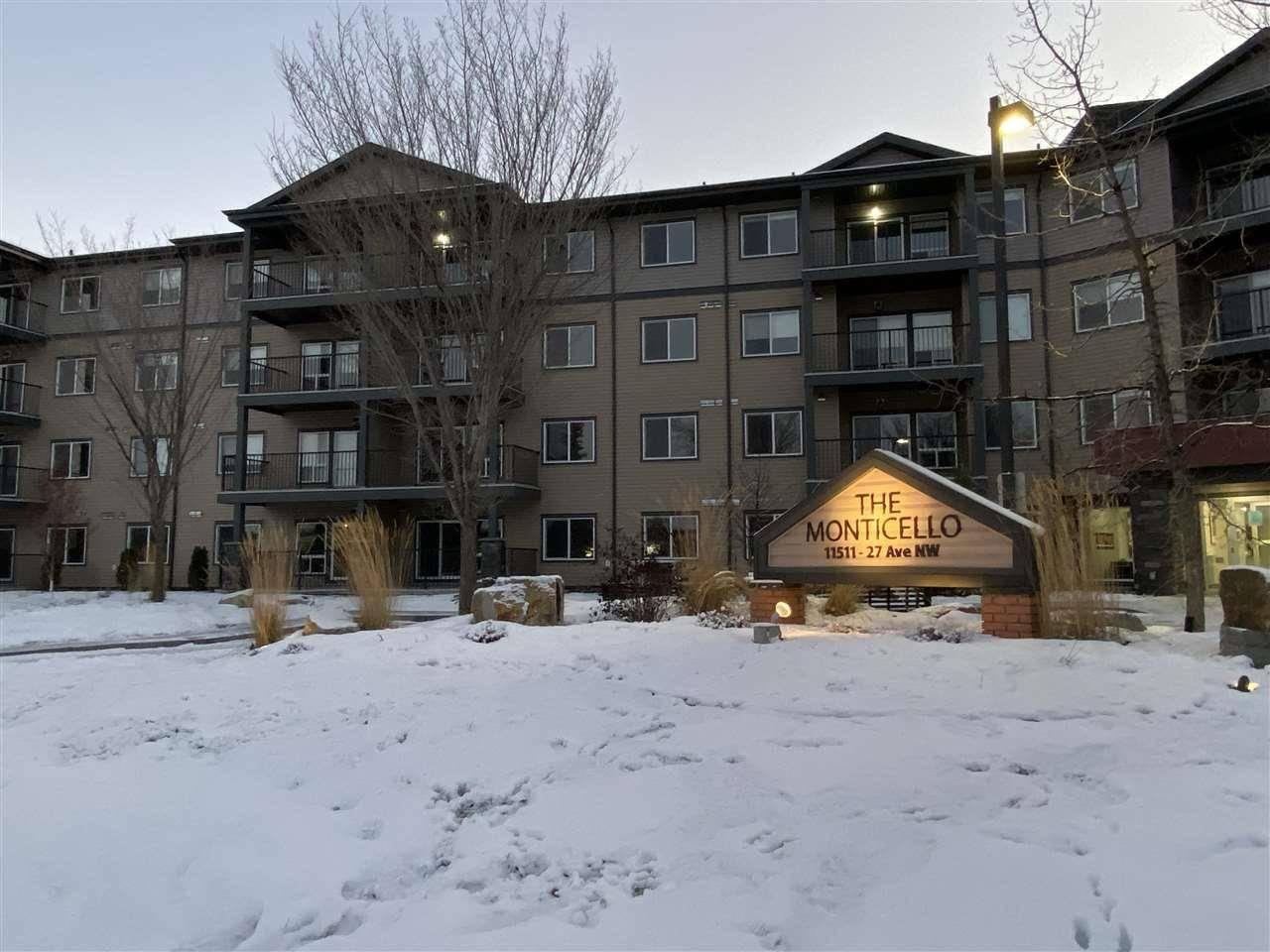 Condo for sale at 11511 27 Ave Nw Unit 402 Edmonton Alberta - MLS: E4181028