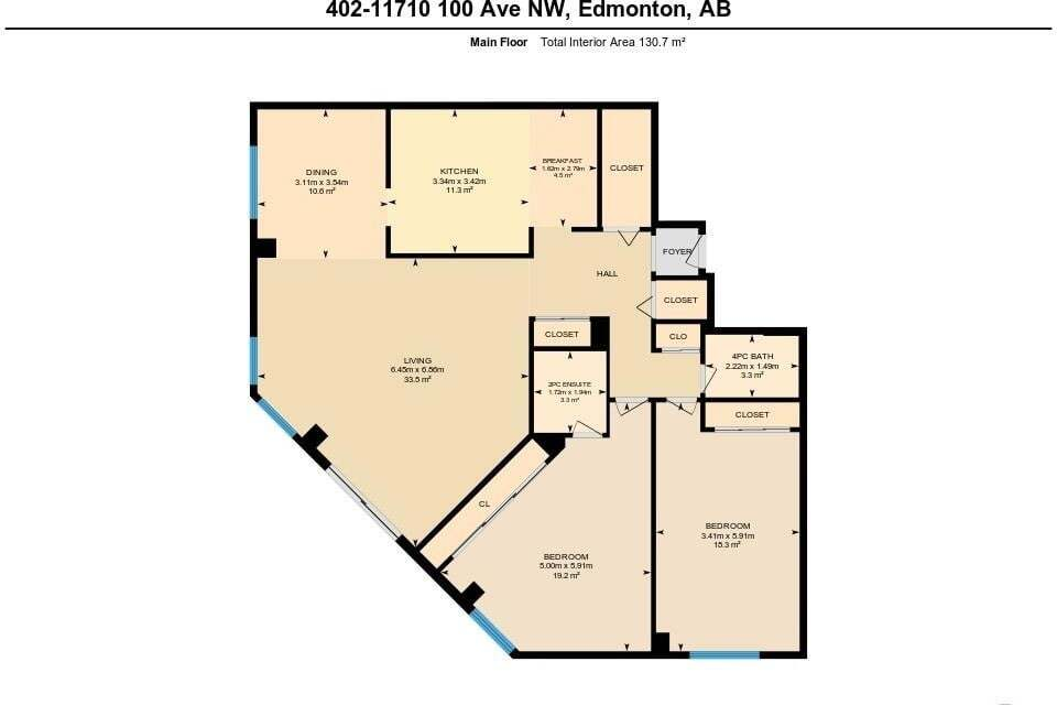 Condo for sale at 11710 100 Av NW Unit 402 Edmonton Alberta - MLS: E4204722