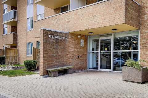 Condo for sale at 15 Sewells Rd Unit 402 Toronto Ontario - MLS: E4863424