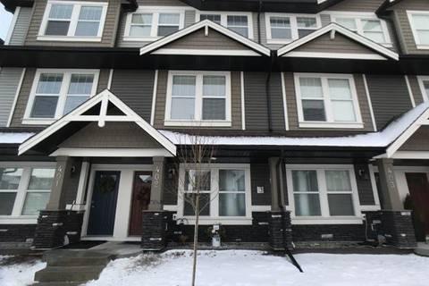 Townhouse for sale at 280 Williamstown Cs Northwest Unit 402 Airdrie Alberta - MLS: C4282337