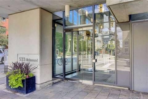 Apartment for rent at 533 Richmond St Unit 402 Toronto Ontario - MLS: C4699609
