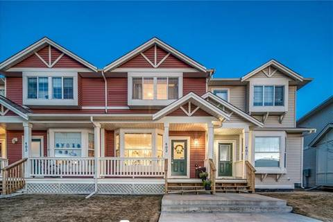 Townhouse for sale at 703 Luxstone Sq Southwest Unit 402 Airdrie Alberta - MLS: C4293458
