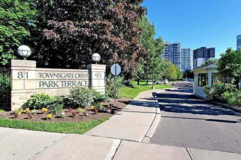 Condo for sale at 81 Townsgate Dr Unit 402 Vaughan Ontario - MLS: N4964076