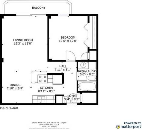 Condo for sale at 924 18 Ave Southwest Unit 402 Calgary Alberta - MLS: C4243390